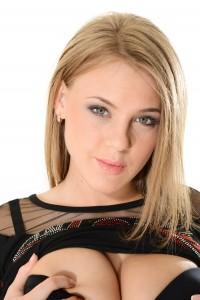Busty Blonde Stripper
