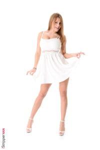 Blonde Stripper from Latvia - Viola blonde stripper